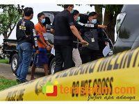 Rekonstruksi Pembunuhan di Tulangan Sidoarjo, Polisi Hadirkan 2 Tersangka