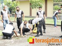 Jaga Imun, Kapolresta Sidoarjo: Biasakan Olahraga dan Hidup Bersih