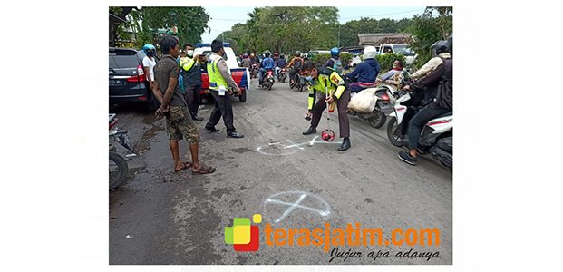 Kecelakaan Maut di Sidoarjo, Truk Tangki Tabrak Pejalan Kaki