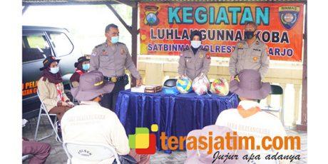 Perangi Narkoba, Polisi Sidoarjo Gandeng Saka Bhayangkara