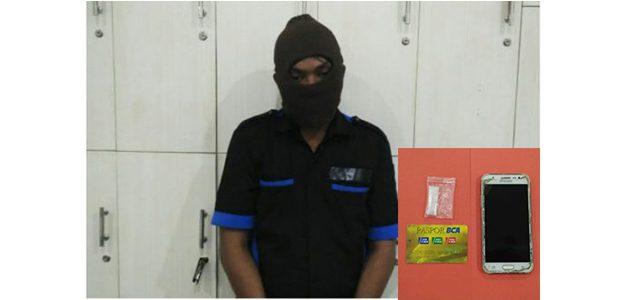 Simpan Sabu, Pria asal Sidoarjo Ditangkap Polisi di SPBU Kampung Dalem Kediri