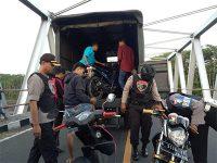 Sisir JLS, Tim Cobra Polres Lumajang Sita Sejumlah Motor Bodong dan Senjata Tajam