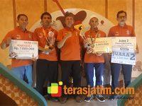 Siswa SMK TBSM Honda Jatim, Raih Juara LKS Tingkat Nasional