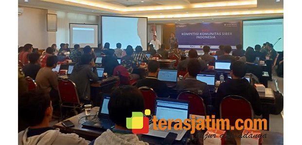 Staf Teritorial TNI AD Gelar Kompetisi Siber di Surabaya