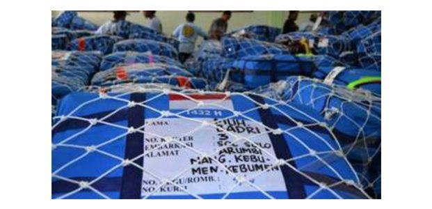 Sudah Dijatah di Debarkasi, Jemaah Haji Dilarang Membawa Zamzam di Pesawat