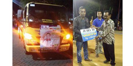 Sundoyo, Caleg Perindo yang Dikenal Sederhana dan Aktif di Organisasi Sosial Kepemudaan