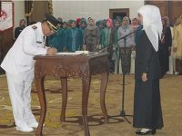 Syahri Mulyo Terseret Kasus Hukum, Maryoto Birowo Resmi Jadi Bupati Tulungagung