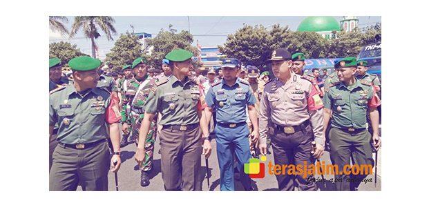 TNI Gelar Apel Pengamanan IMF dan WB Annual Meeting di Banyuwangi