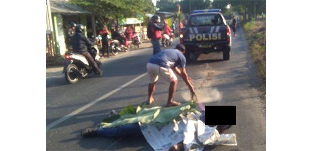 Tabrak Pengendara Wanita di Gudo Jombang, Pria asal Prambon Nganjuk Tewas Seketika