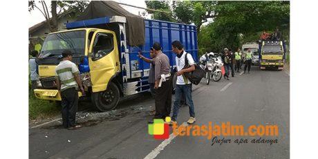 Tabrakan Beruntun, Jalur Surabaya – Madiun Lumpuh