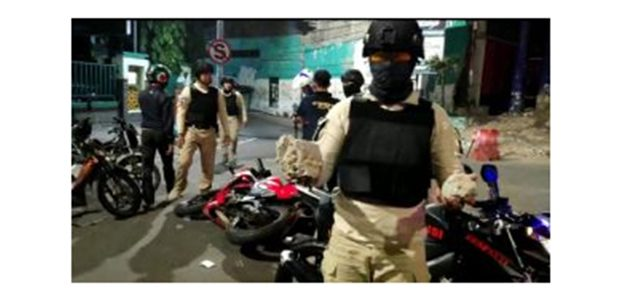 Tawuran, Sejumlah Pesilat Diamankan Tim Respatti Polrestabes Surabaya