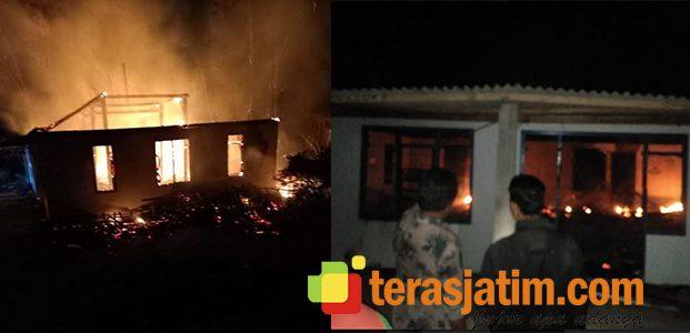 Terbakar Hebat, Rumah Seorang Pembuat Arang di Pacitan Hangus Jadi Arang