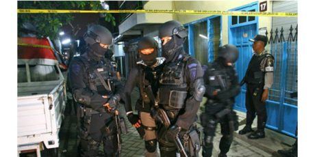 Terduga Teroris Yang Ditangkap di Surabaya, Jadi 3 Orang