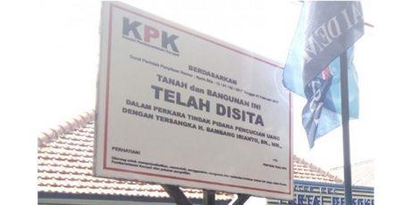 Terkait Kasus Walikota Madiun, KPK Sita Kantor DPC Demokrat Kota Madiun