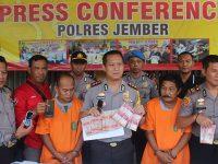 Terlibat Judi Pilkasun di Jember, 2 Warga asal Bondowoso Ditangkap