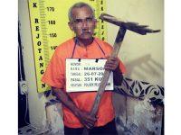Tersinggung, Kakek asal Blimbing Tulungagung ini Aniaya Tetangganya