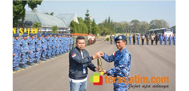 Tiba di Bandara Abdurahman Saleh Malang, Api Asian Games Diarak ke Blitar
