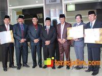 Tiga OPD di Kabupaten Blitar Teken Pakta Integritas Bebas Korupsi