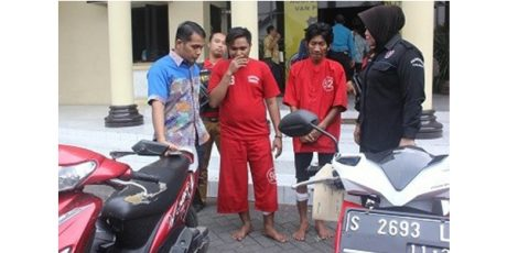 Tim Anti Bandit, Kembali Gulung Empat Anggota Komplotan Begal Motor