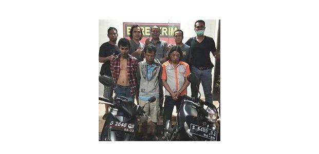 Beraksi di Jombang, 3 Maling Motor Asal Mojokerto Ditangkap