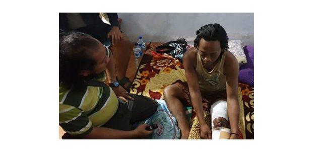 Maling Sapi di Pasirian Lumajang, Ditangkap Dalam Kondisi Patah Kaki