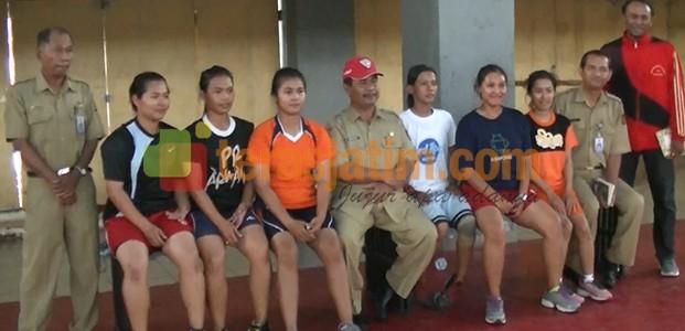 Tim wanita Gobak Sodor Kota Kediri mewakili Jawa Timur