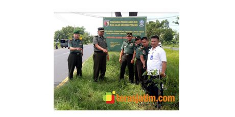 Tim Kodam dan Dishut Prov Jatim Sidak Program Penghijauan di Bangkalan