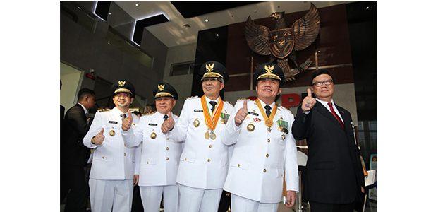 Tradisi Baru Usai Pelantikan, Seluruh Gubernur dan Wakilnya Sambangi KPK