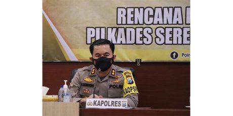 Amankan Pilkades Serentak 3 April, Polres Trenggalek Siapkan 625 Personel dan 1 SSK BKO Brimob