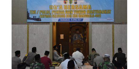 Polres Trenggalek Gelar Shalat Gaib dan Doa Bersama Bagi 53 Prajurit KRI Nanggala-402