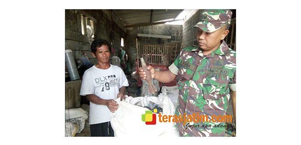 Tukang Rosok di Blitar Temukan Granat Mortir Aktif