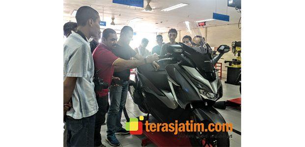 Undang Jurnalis, MPM Perkenalkan Teknologi Honda Forza