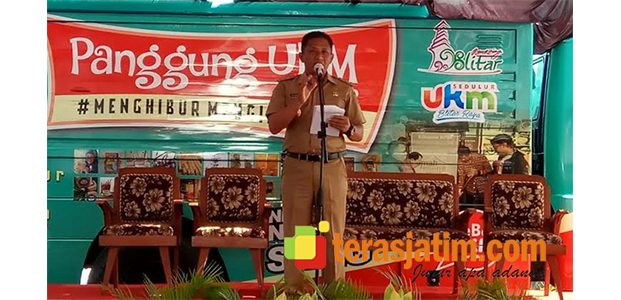 Wabup Blitar Launching Kampung Wirausaha Online