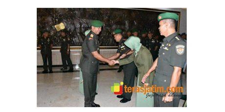 Wakapendam Brawijaya Bergeser Jabat Kepala Jasmani Daerah Militer