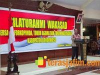 Wakasad Gelar Silaturahmi dengan Tokoh Agama dan Masyarakat di Bondowoso