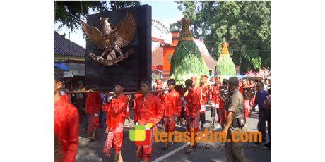 Peringati Hari Lahir Pancasila, Warga Blitar Selenggarakan Ritual Gerebek Pancasila