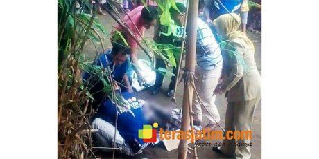 Warga Kepung Kediri Temukan Bayi Terkubur di Pekarangan