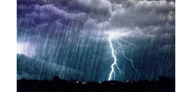 Waspada, Potensi Hujan Angin Disertai Petir Masih Berlangsung Hingga Pekan Depan