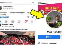 "Akun ""Mas Handoyo"" Sindir Pasukan Banteng, Ini Kata Relawan Yes Bro"