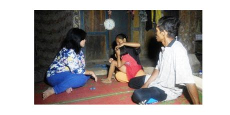 Komnas HAM Sambangi Bocah 10 Tahun Yang Dipasung Keluarganya di Ponorogo