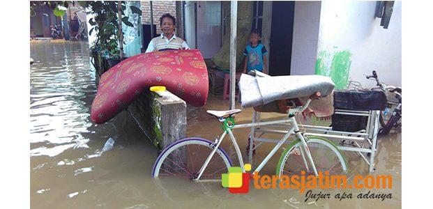 Tahun Berganti, Kampung Pulo Gentengan Direndam Banjir