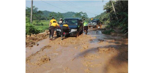 Banjir Bandang dan Tanah Longsor Terjadi di Trenggalek