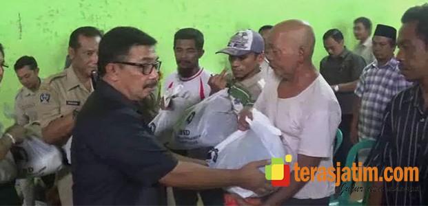 Bantuan Untuk Korban Angin Puting Beliung