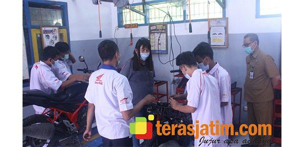 Tingkatkan Kualitas Pendidikan, MPM Honda Jatim Resmikan Tempat Uji Kompetensi SMK