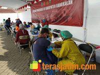 Vaksinasi Tahap Kedua di Bangkalan Targetkan 2 Ribu Warga