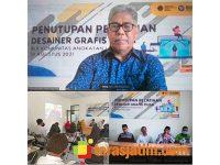 Prof Zainuddin Maliki, Anggota Komisi X DPR RI, Tutup Pelatihan Desainer Grafis Muda di Benjeng Gresik