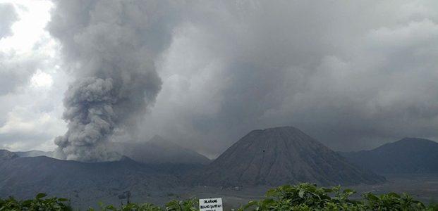 Beberapa Wilayah di Probolinggo, Masih Diguyur Hujan Abu Gunung Bromo
