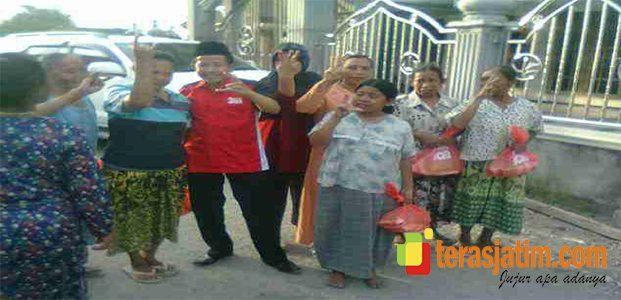 Bagi-Bagi Sembako, Cabup No 3 Dilaporkan Ke Panwas