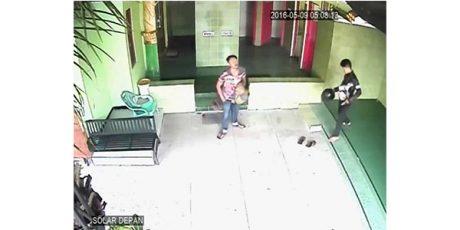 2 Pelaku Pencurian Kotak Amal di SPBU Magetan, Terekam CCTV