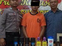 Gondol Parfum di Swalayan, Pemuda asal Prajurit Kulon Mojokerto Masuk Bui